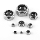 304L Stainless Steel Nyloc Nuts