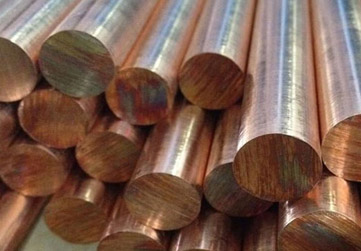 Cupro Nickel 70/30 Round Bars