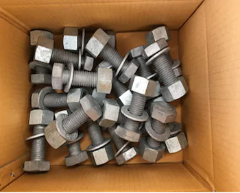 ss 304l bolts packaging