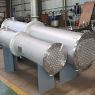 Stainless Steel Heat Exchanger Shell And Tubee